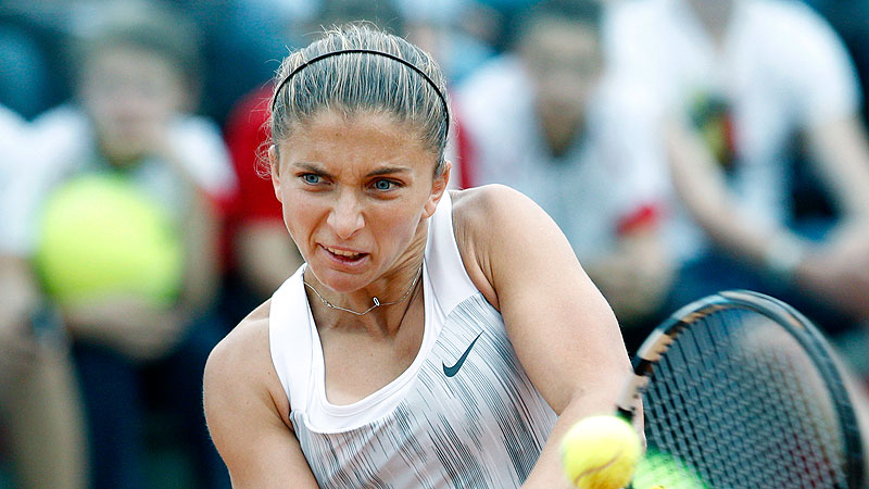 Sara Errani has won 19 career doubles titles and seven career singles titles and is the top-ranked Italian player at No. 6.