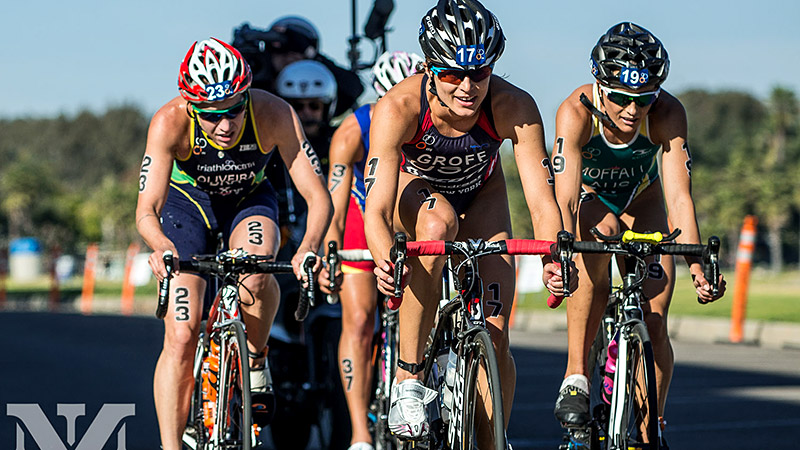 Olympic triathlete Sarah Groff wishes every athlete -- regardless of level -- a sense of fulfillment at the finish line.