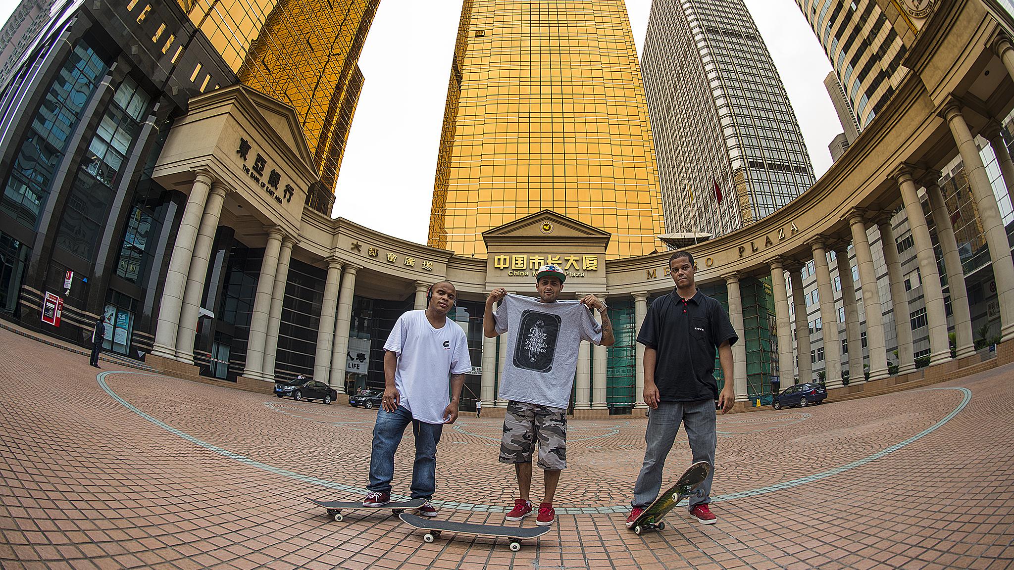 Skate Tour na China