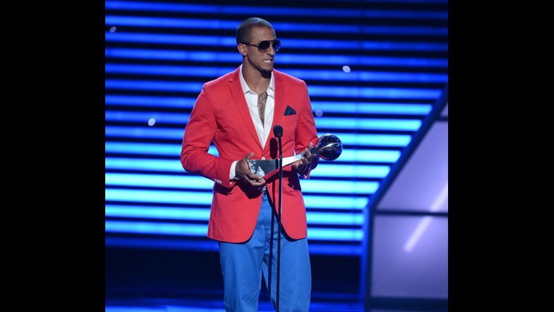 Colin Kaepernick during The 2013 ESPYS.