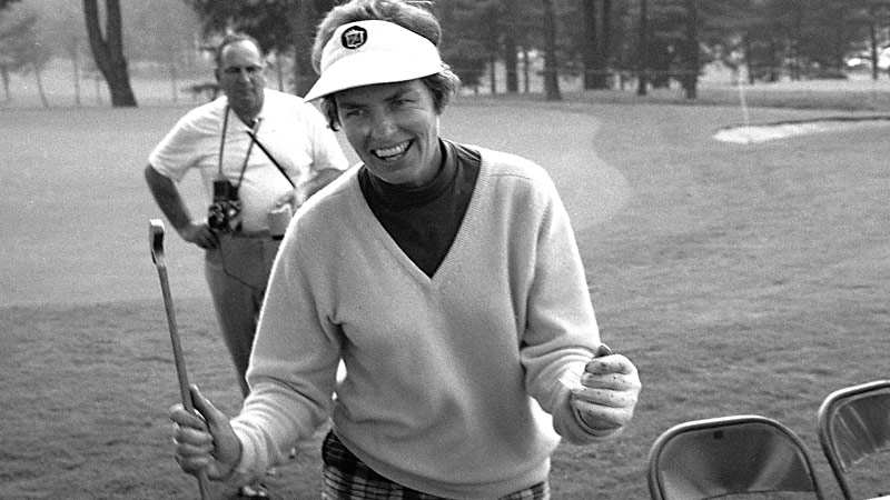 Betsy Rawls, who was inducted to the World Golf Hall of Fame in 1960, won her final major at the LPGA Championship in 1969.