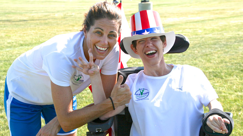 Amy Liss has been one of the brightest stars at Julie Foudy's Sports Leadership Academy for six years and counting.