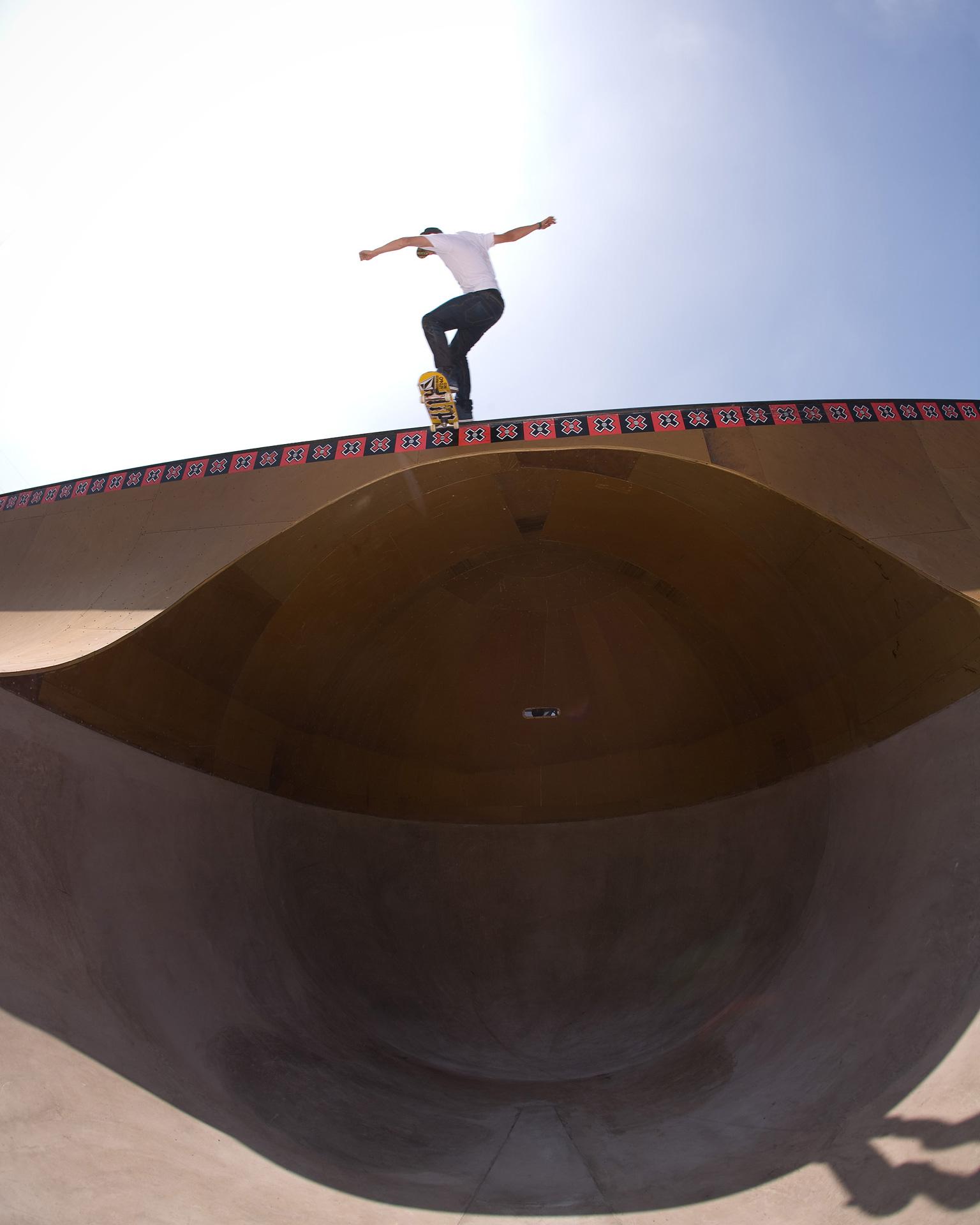 Skateboard Park gets a face-lift, 2009