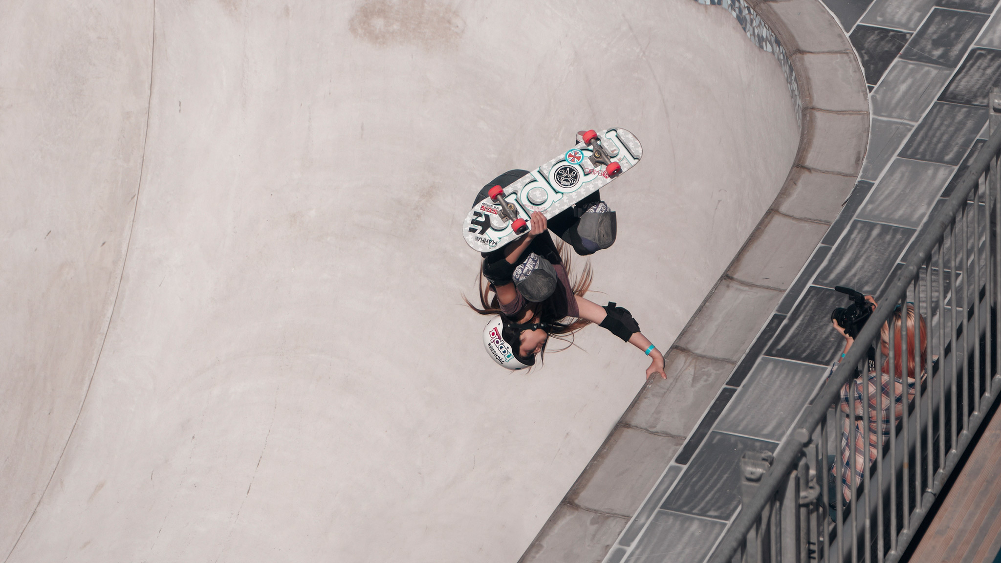 At X Games Barcelona, Alana Smith became the youngest athlete to ever medal in the X Games taking silver in the Skateboard Park contest. She'll be a dark horse for Women's Skateboard Street in Los Angeles.