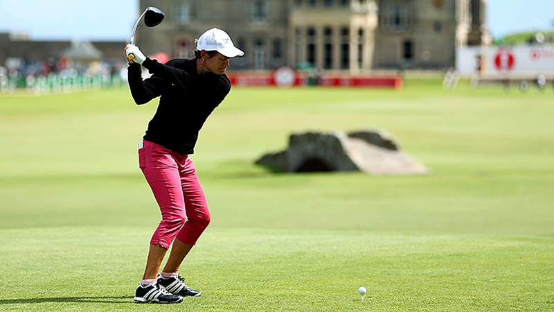 Catriona Matthew hopes the home-course advantage will help her end Inbee Park's streak of major victories this week.