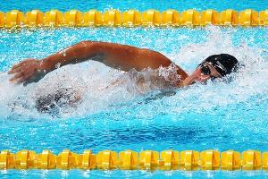 Ryan Lochte won the 200 IM at the 2013 Swimming Worlds.