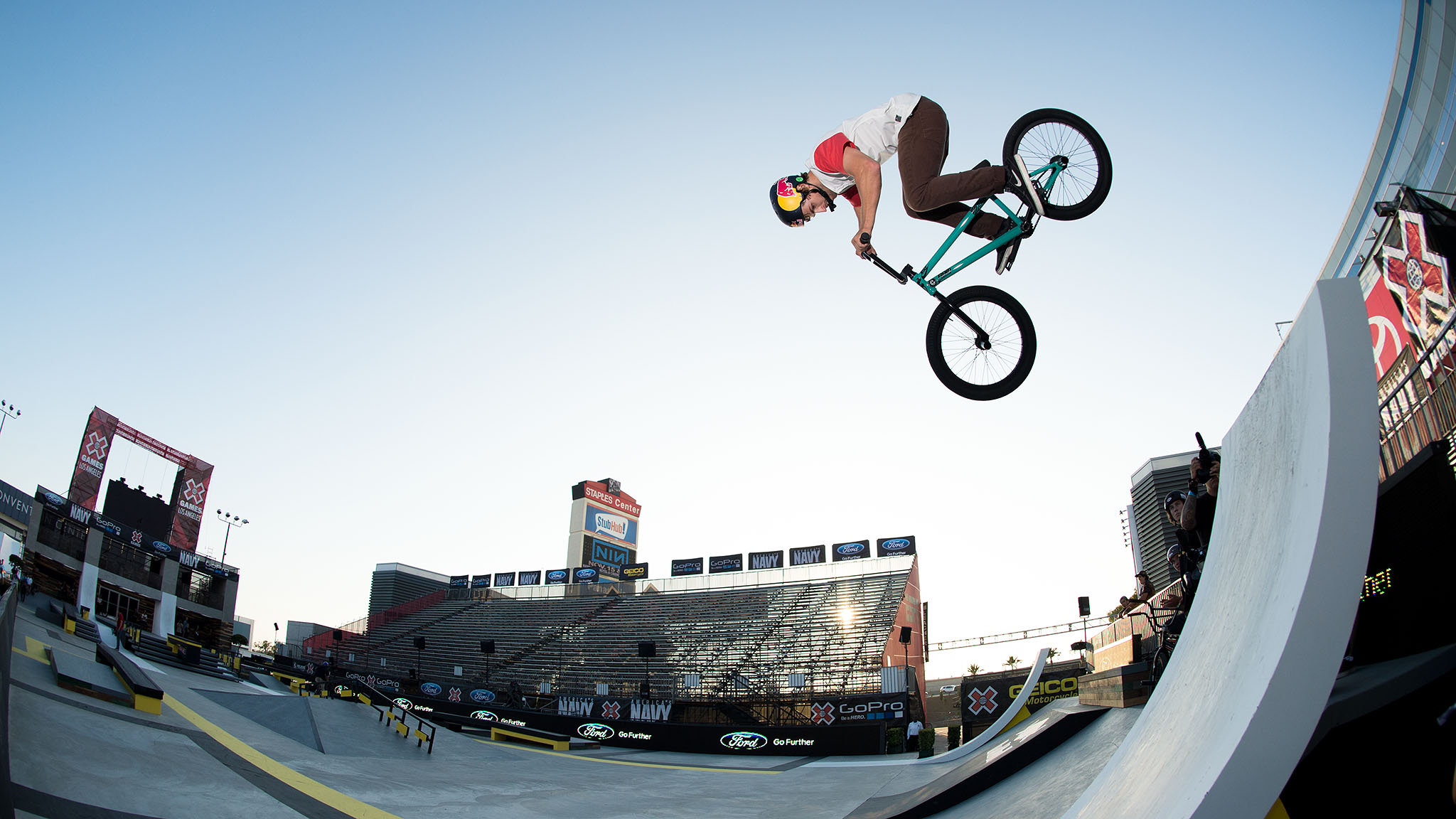 Since the introduction of BMX Street to X Games in 2006, no other BMXer aside from Garrett Reynolds has claimed gold in the discipline. Reynolds will attempt to defend his perfect record on Day 3 of X Games Los Angeles with moves like this 360 to fakie.