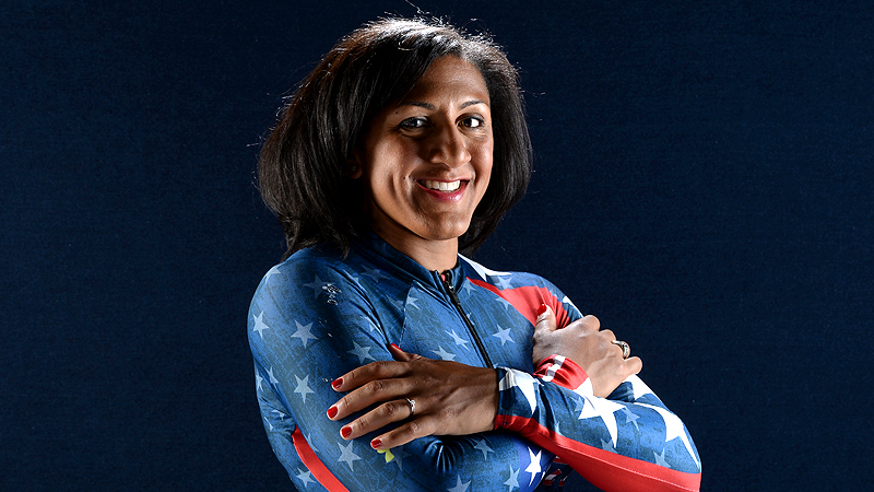After winning a bronze medal with pilot Erin Pac at the 2010 Vancouver Games, Elana Meyers has moved to the bobsled's driver's seat and is one of the favorites to glide onto the podium in Sochi. i(Photo: Getty Images)/i