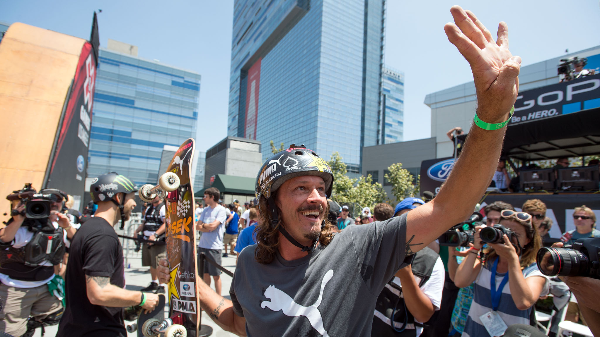 Before 2013, Bucky Lasek hadn't brought home a gold in Vert since 2006. All that changed this year: On Saturday the 40-year-old skateboard legend took home his fourth consecutive X Games Vert gold medal.