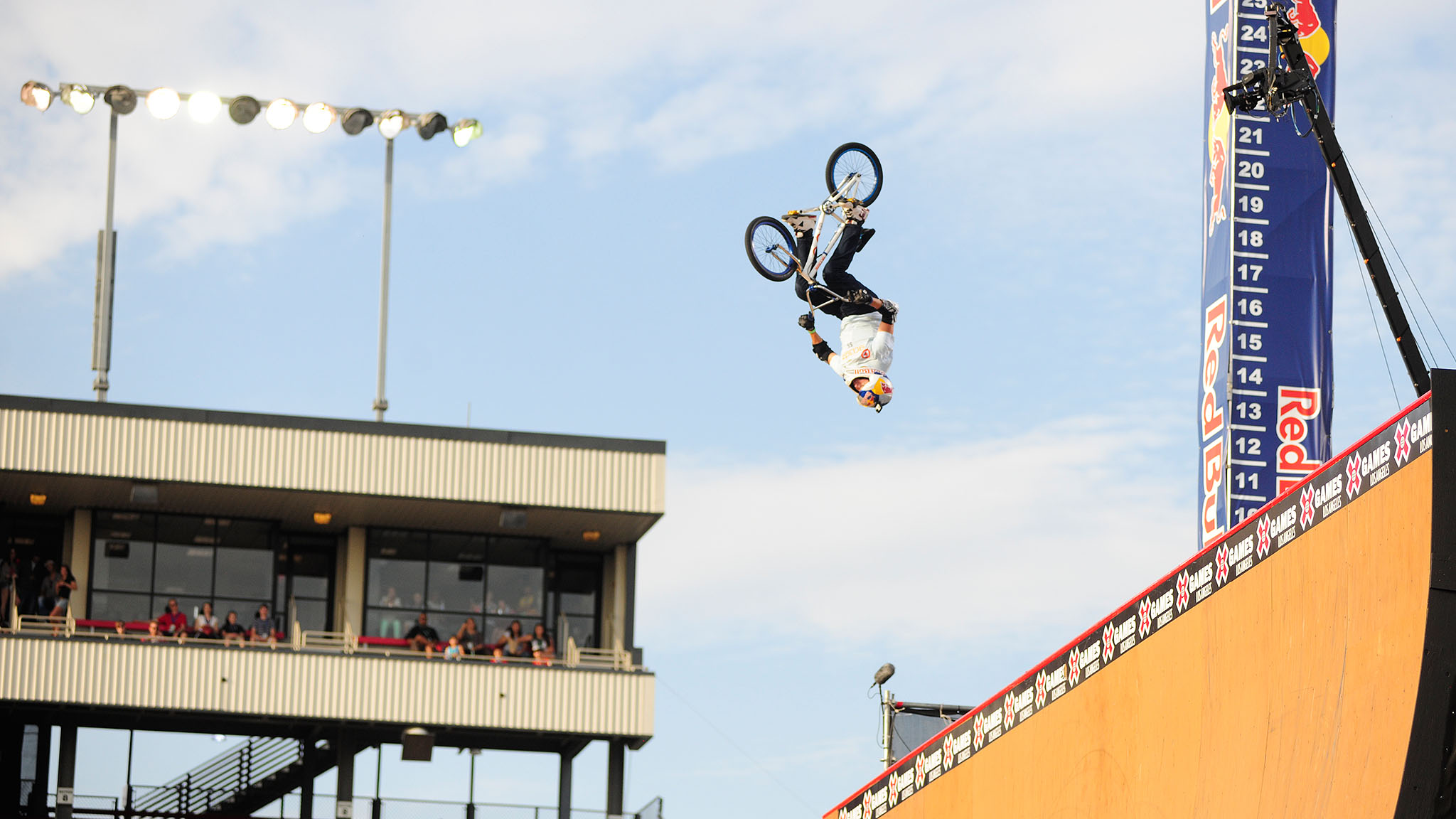 Kevin Robinson competed at the inaugural X Games in 2003 and retired from competition this week in Los Angeles.