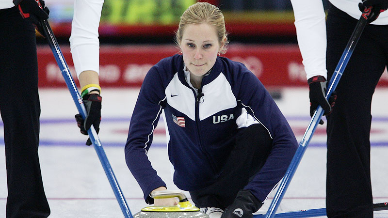Cassie Potter was the skip, or captain, of the U.S. curling team that finished eighth at the 2006 Winter Olympics, and she's hoping to get another shot in Sochi next year.