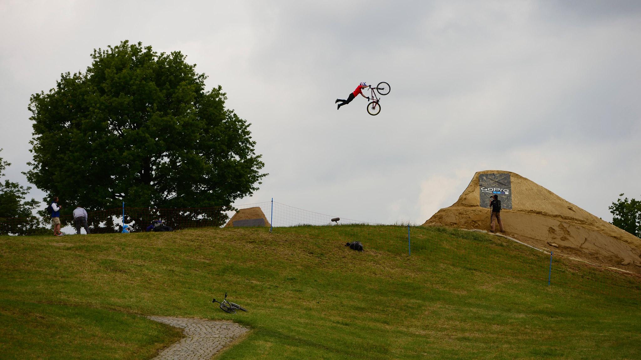 Darren Berrecloth -- Mountain Bike Slopestyle
