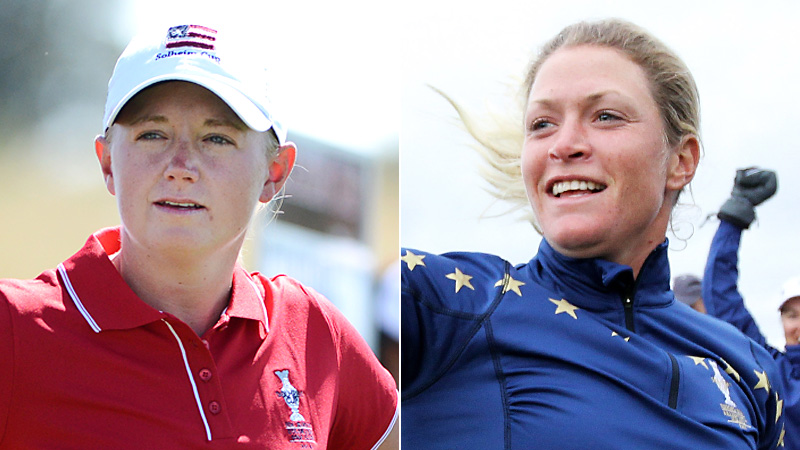 Players such as world No. 2 Stacy Lewis will try to keep the Americans perfect record at home intact;  No. 3 Suzann Pettersen will lead the charge in Europes Cup defense.