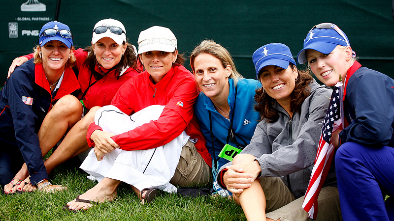 2009  U.S. Solheim Cup team