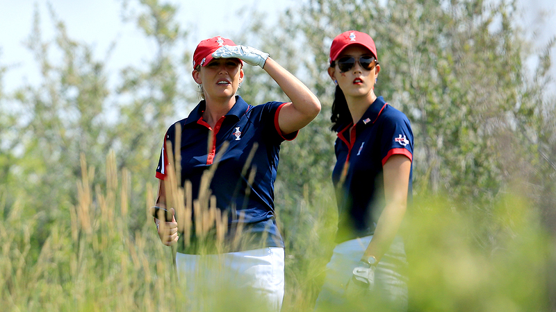 Cristie Kerr and Michelle Wie