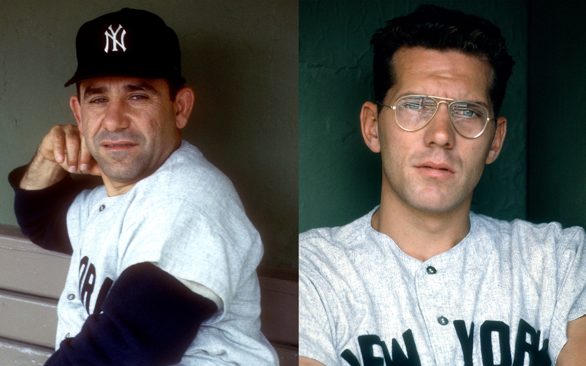 Yogi Berra and Phil Linz