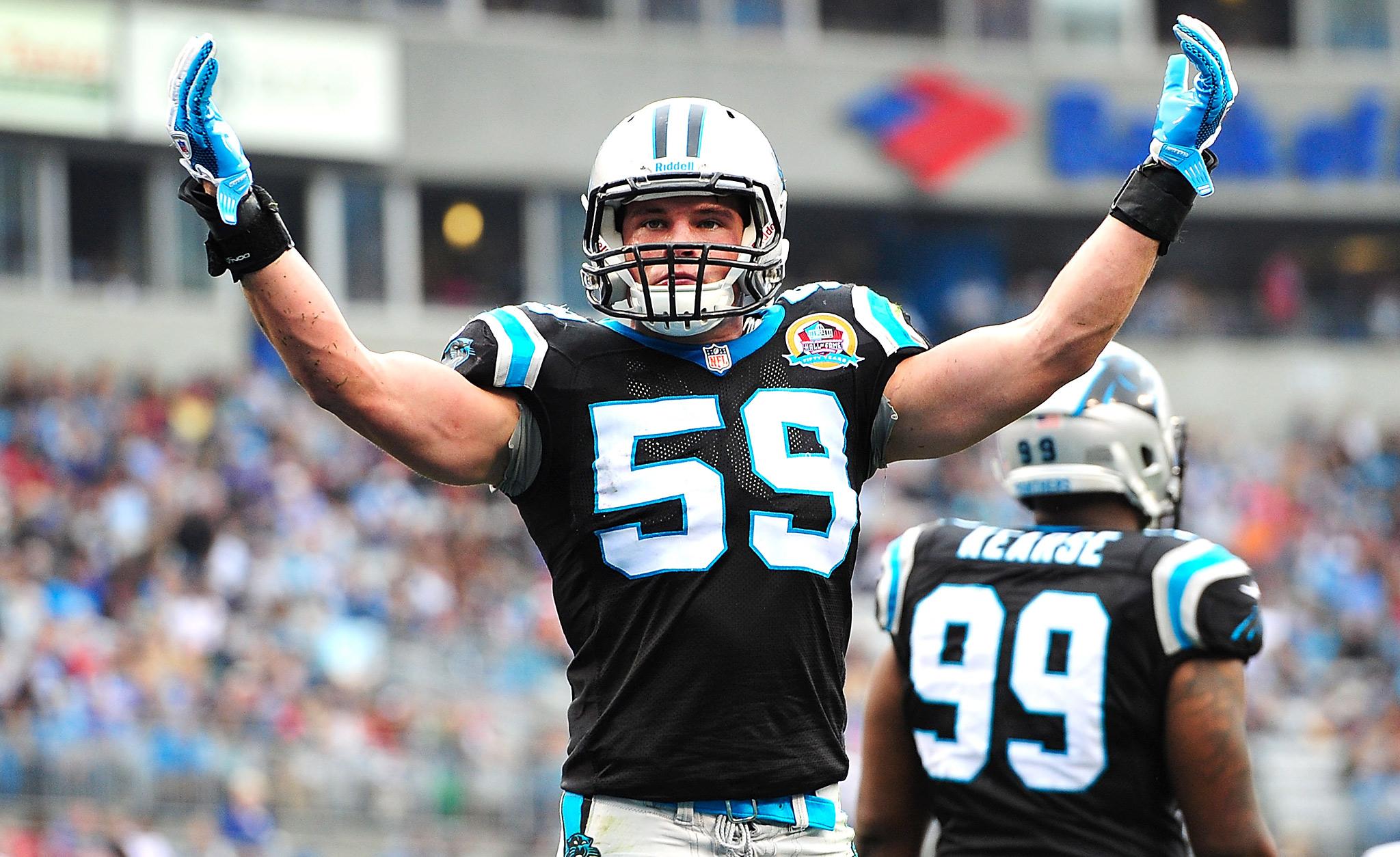 #NFLRank No. 22, Defense: Luke Kuechly