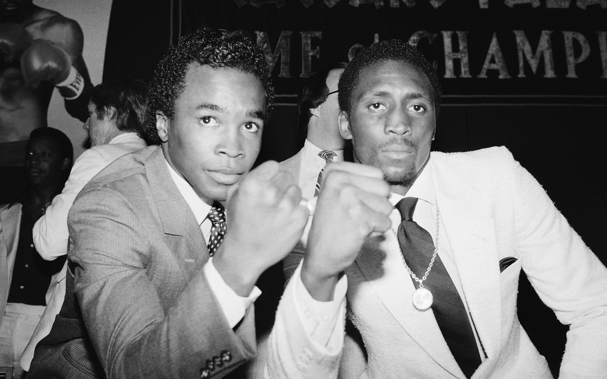 Leonard vs. Hearns