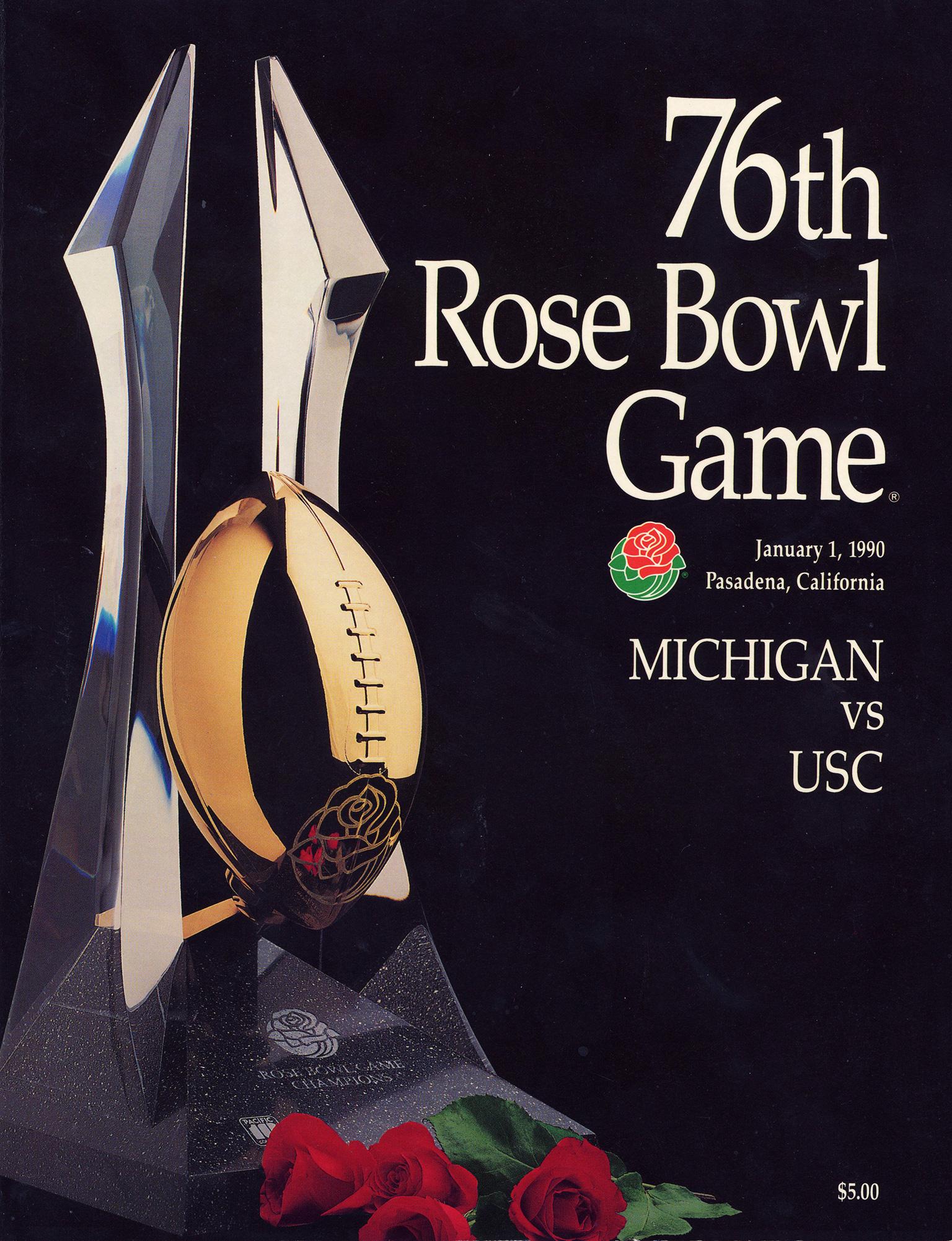 1990 Rose Bowl