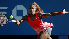 Serena Williams will attempt to defend her US Open title Sunday after defeating Li Na in the semifinals.
