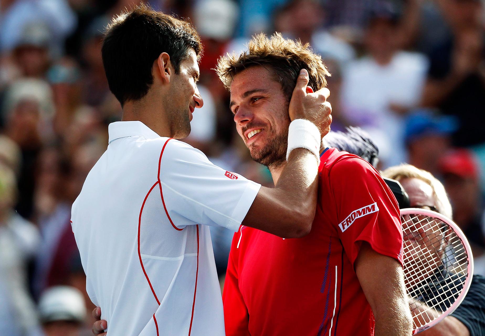 Novak Djokovic, Stanislas Wawrinka