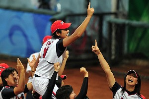 There still is a chance softball and baseball could make it back into the Olympics. It doesn't hurt that Japan, host nation in 2020, won softball gold in Beijing in 2008.