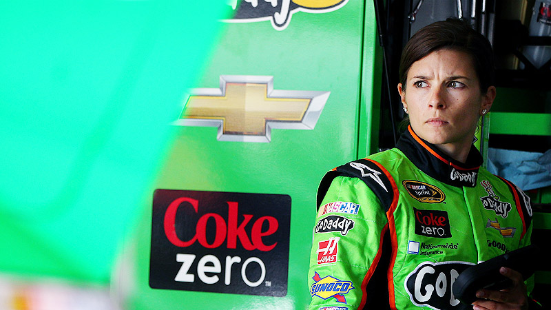 Saturday's race at Richmond International Raceway was Danica Patrick's 36th since her Sprint Cup debut Feb. 27, 2012.