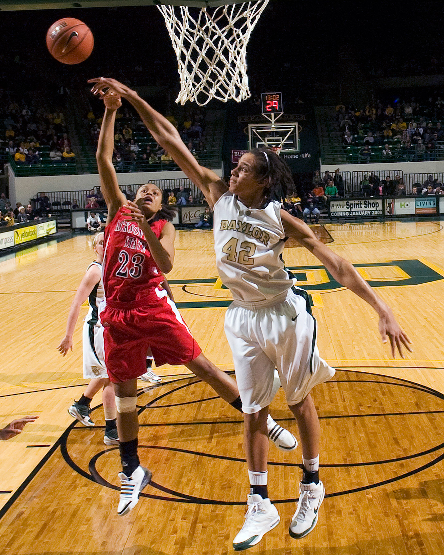 Nobody -- man or woman -- has more blocks in NCAA basketball history than Brittney Griner. She finished her career at Baylor with 748 in 150 games.