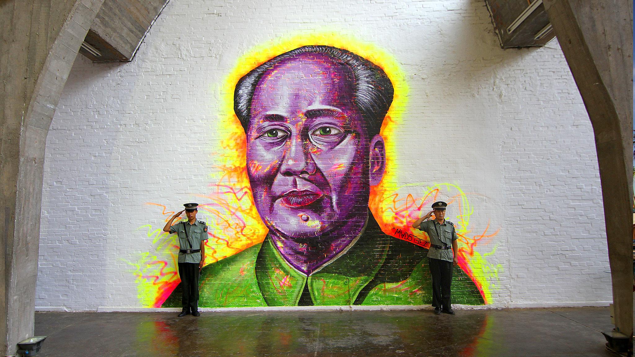 Mao Mural