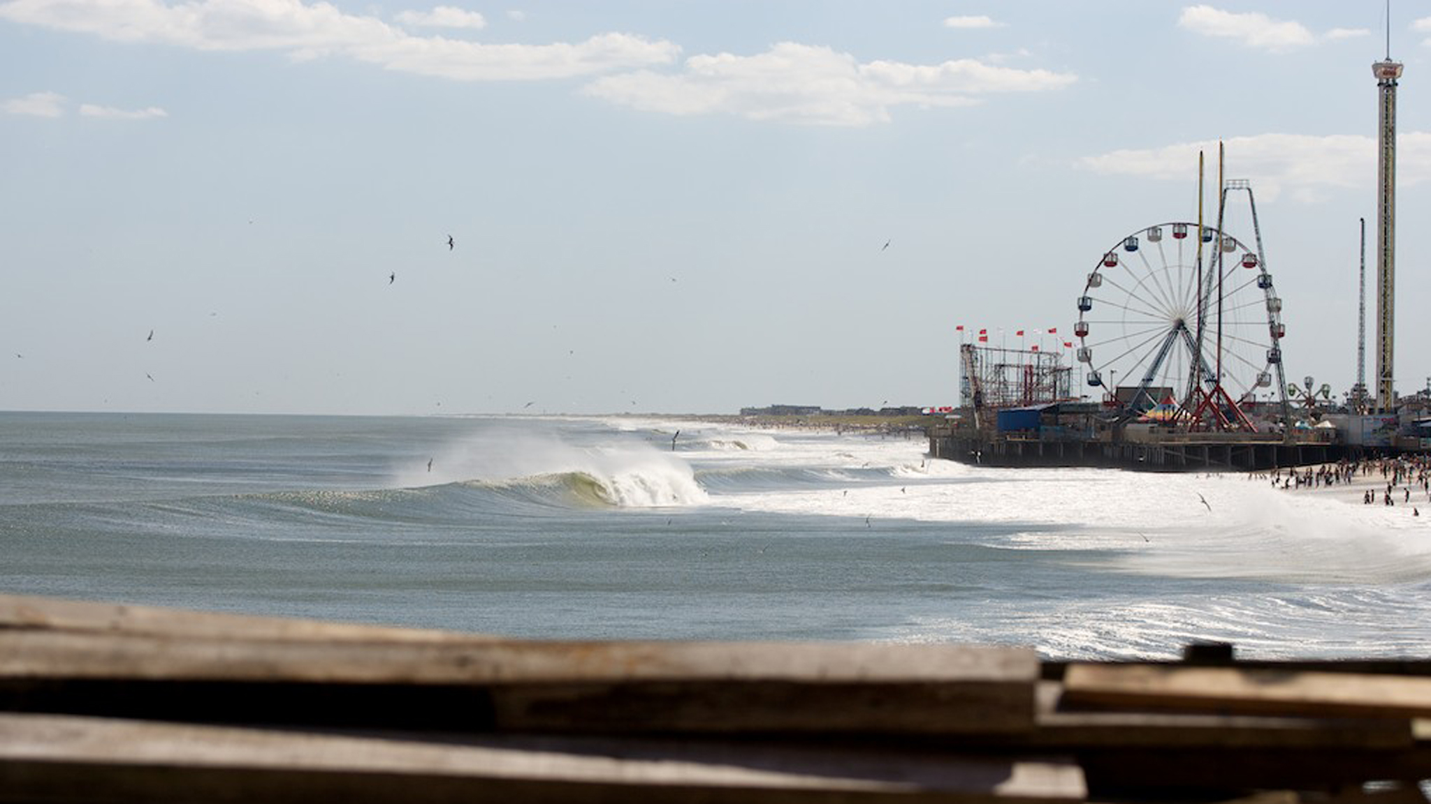 These towns were iconic of the New Jersey Shore to the tri-state area and hold decades of surfing history. They had just begun to rebound from SuperStorm Sandy.