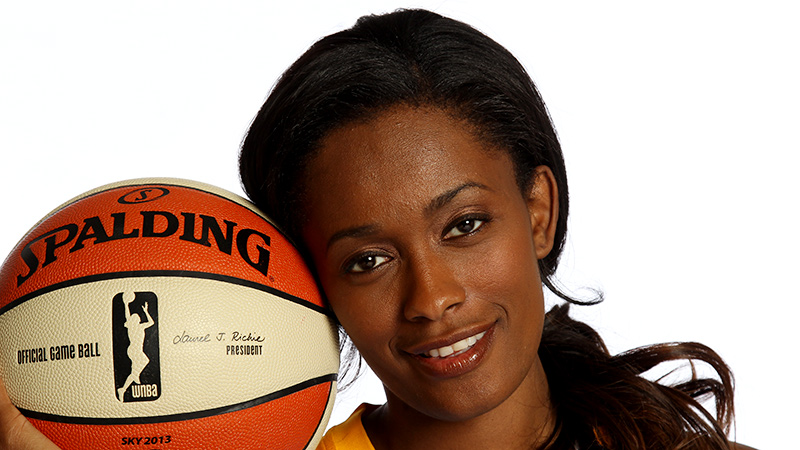 Swin Cash counts two NCAA titles, two Olympic gold medals and three WNBA championships among her list of accomplishments.