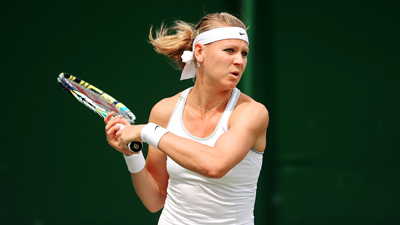 Lucie Safarova is the Czech Republics No. 2 player behind Petra Kvitova, the 2011 Wimbledon champion.