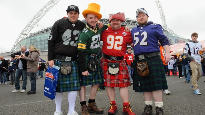 London NFL fans