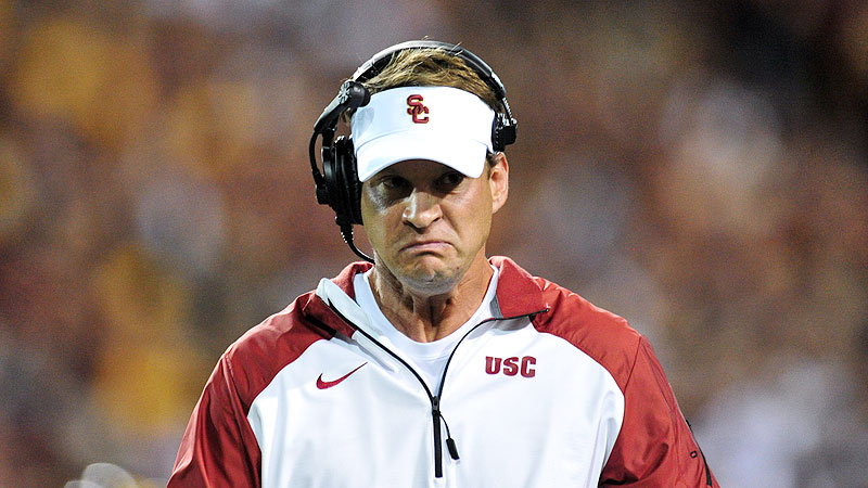Did Lane Kiffin have to resort to the hitch route to get  home from the airport last Sunday? Here's  hoping we never know.