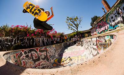 X Games Park gold medalist Curren Caples turns pro for Flip Skateboards.