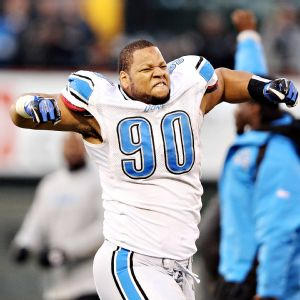 Ndamukong Suh has been named to three Pro Bowls in his four NFL seasons but has played in just one playoff game.