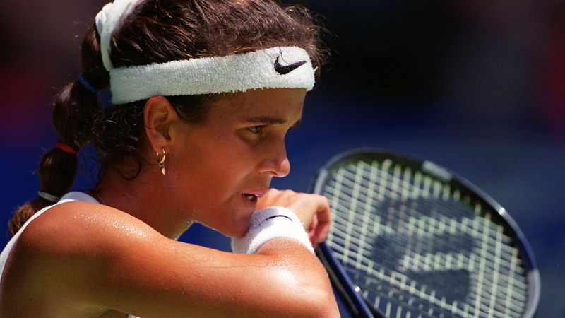 Mary Joe Fernandez reached three Grand Slam singles finals during her career and peaked at No. 4 in the world.