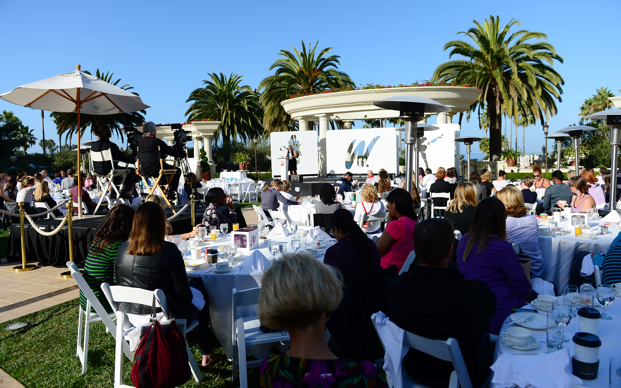 The sun was out again for Day 3 of the espnW Women  Sports Summit.