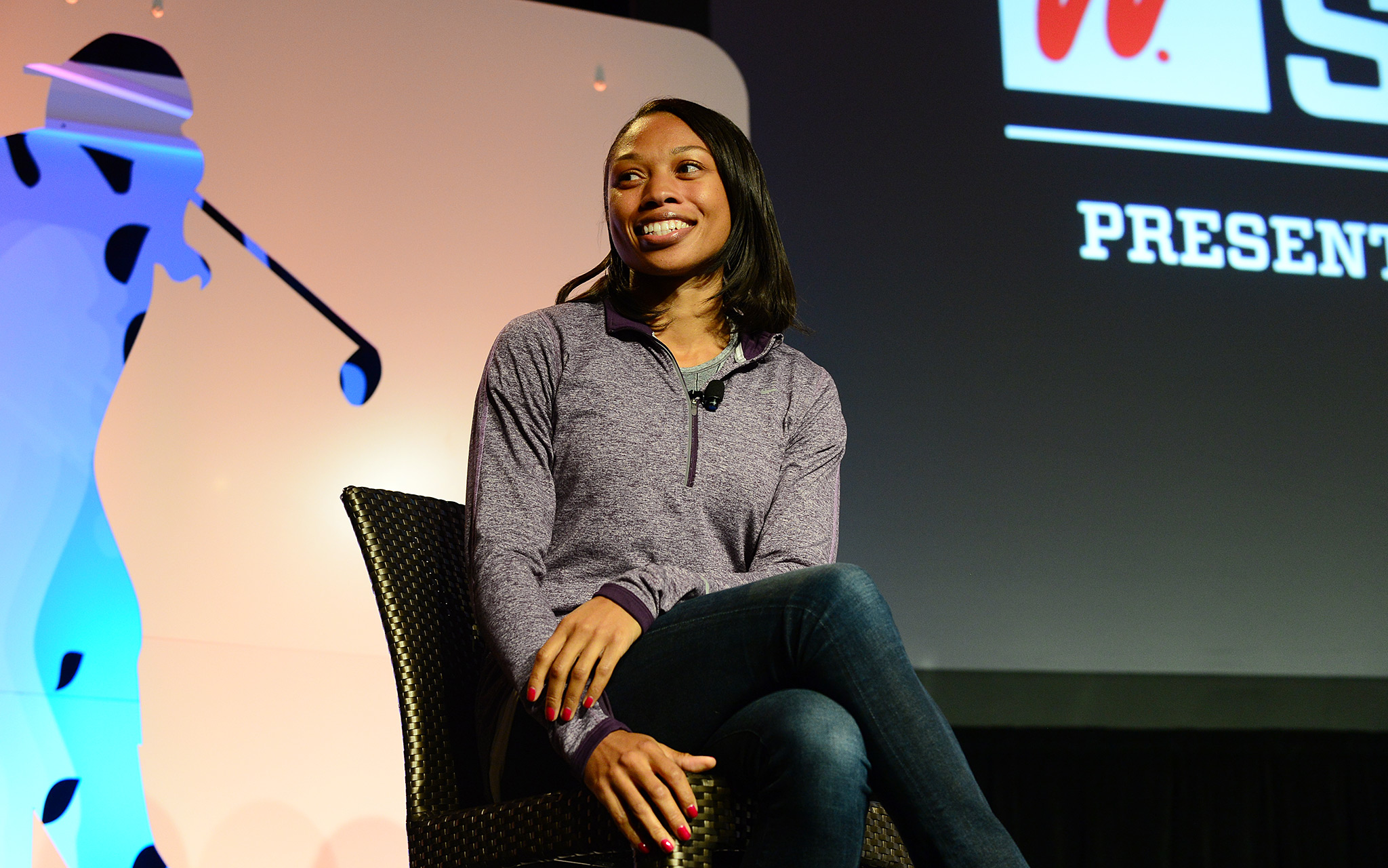 Olympic gold medalist Allyson Felix shared her experiences of how she learned to become a more positive role model for kids. Felix's most important influence? Her mother.