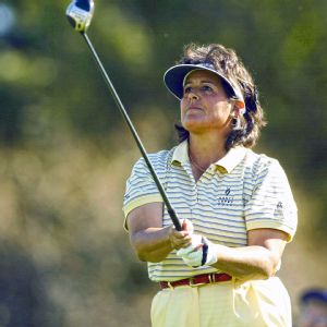 Nancy Lopez says she wants players today to learn both how to win and how to accept defeat.