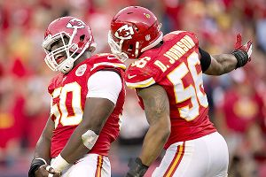 Kansas City's defense, led in part by Justin Houston and Derrick Johnson, has allowed 10.8 points per game through seven games.