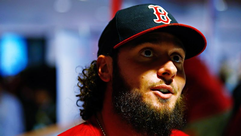 Boston Beards: Jarrod Saltalamacchia