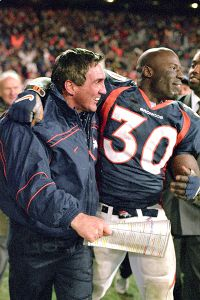 Shanahan drafted Terrell Davis in the sixth round and turned him into a star.