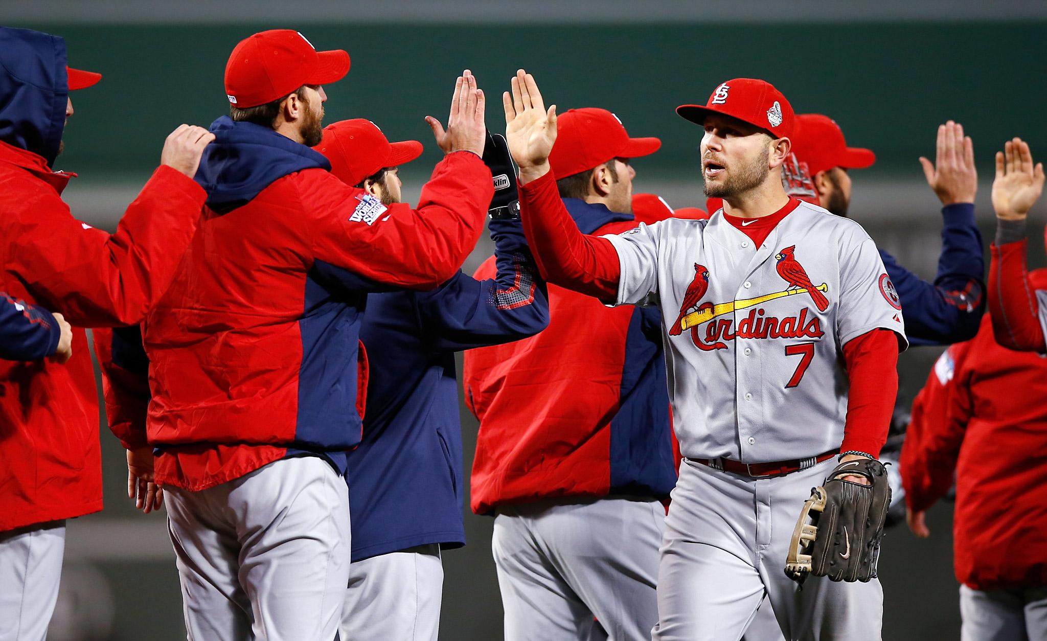 Cardinals win game 2
