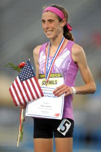 Goethals' lean frame wasn't a concern when she was winning the New Balance Nationals.