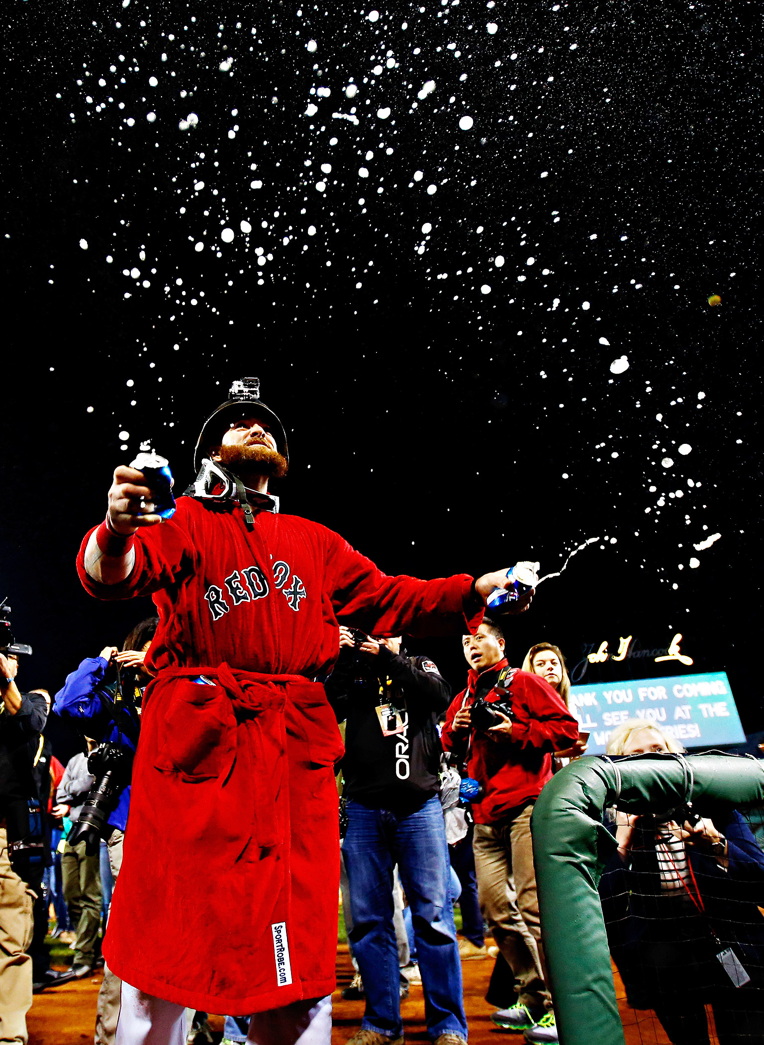 Robed Red Sox