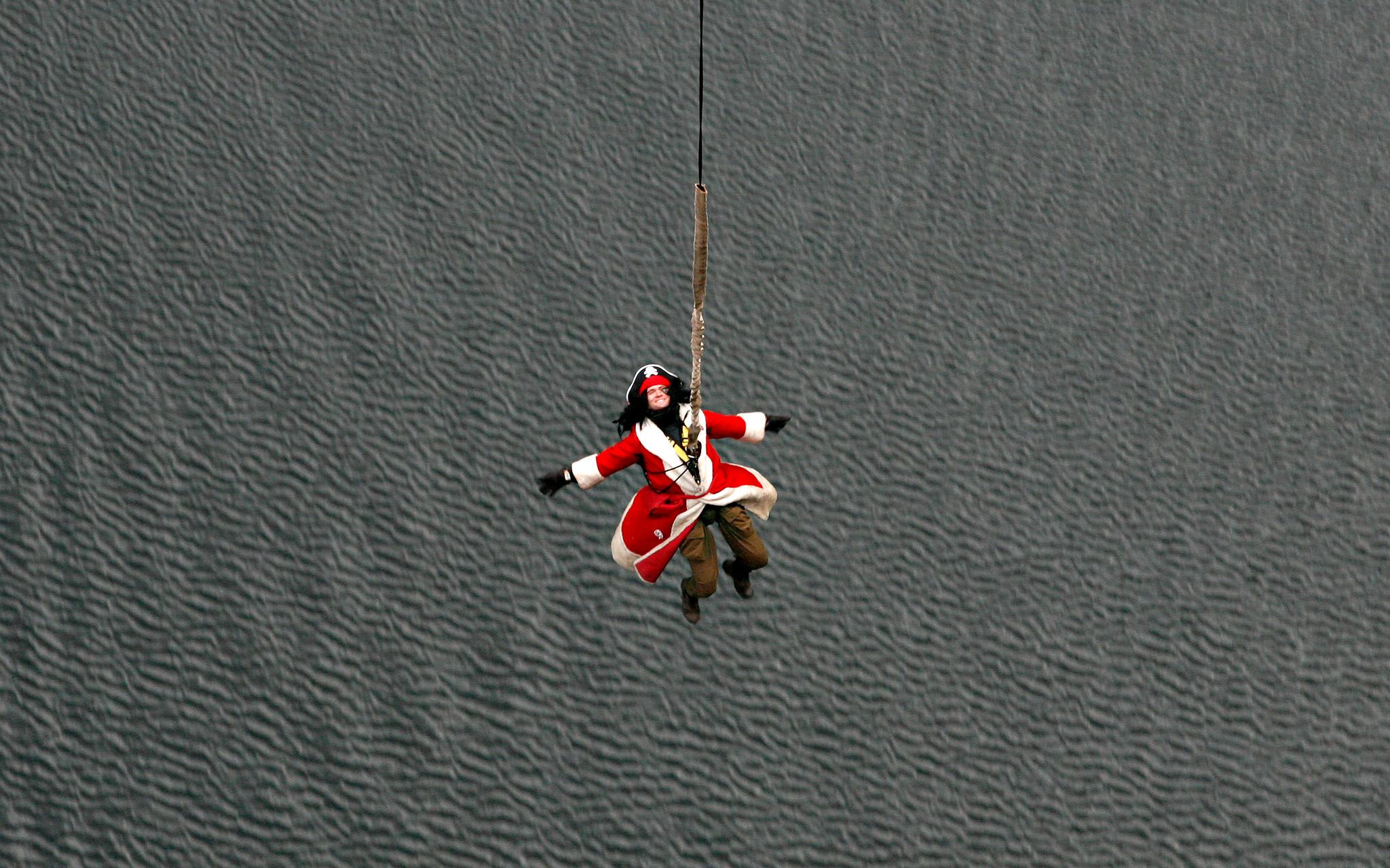Captain Hook Meets Santa Claus