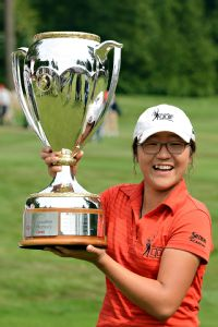 As a 15-year-old in August 2012, Lydia Ko became the youngest winner of an LPGA title at the Canadian Open.