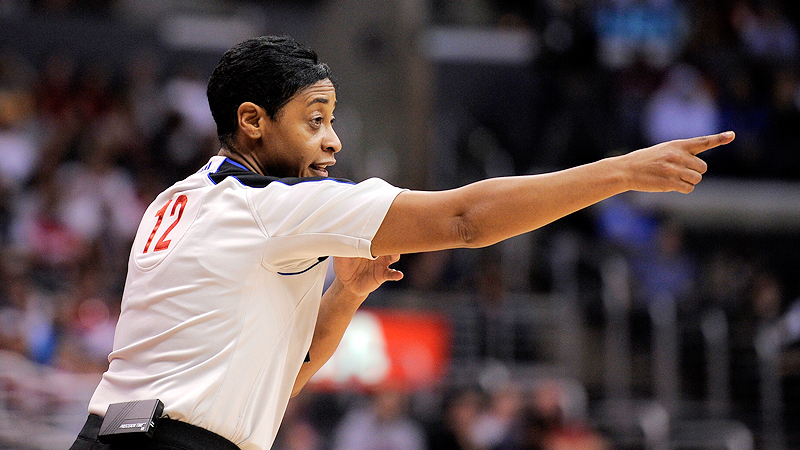 With 16 seasons of experience, Violet Palmer has become one of the NBA's veteran officials.