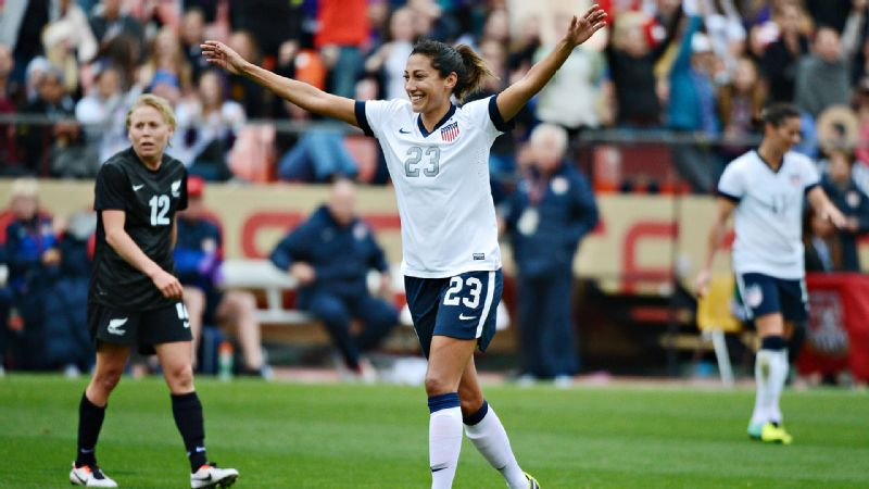 Playing professionally in Sweden has given American Christen Press a different perspective of soccer and life.